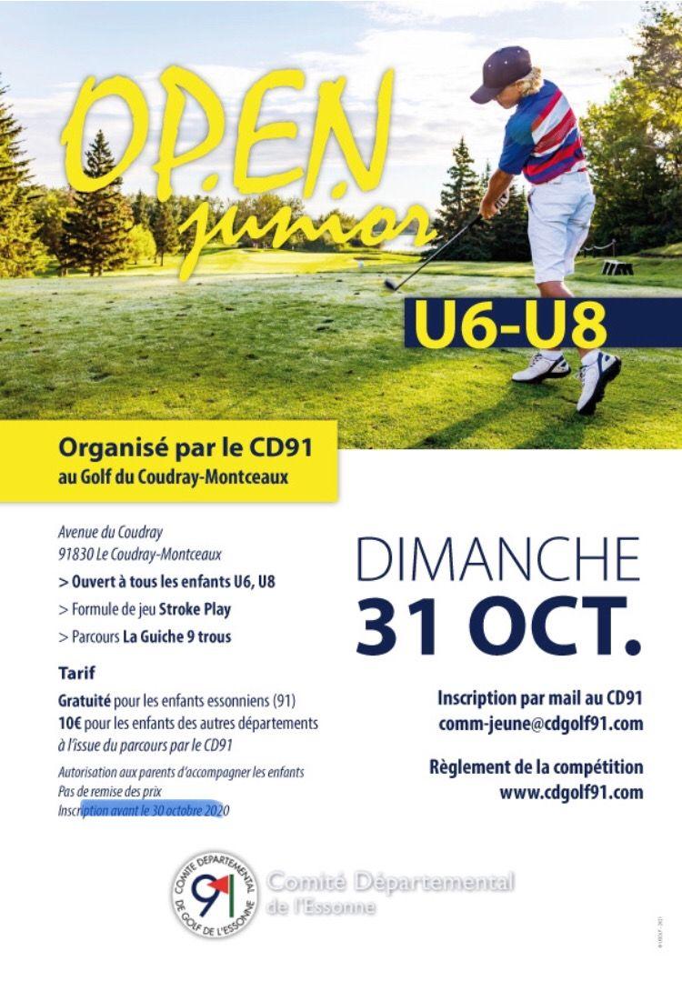 Open Junior U6 & U8